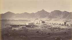 Western end Dakka Fort, looking towards Khurd Khyber.